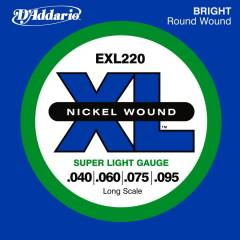 D'addario EXL220 Super Light Tak�m Tel