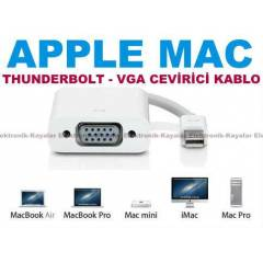 MACBOOK PRO THUNDERBOLT VGA TV KABLO CEV�R�C�