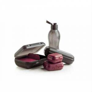 TUPPERWARE EKO ���E S�YAH 1LT VE �ST�R�DYE SET