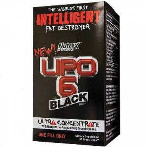 Nutrex Lipo 6 Black Ultra Concentrate 60 Kaps�l