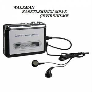 WALKMAN - USB DEN KASETLER�N�Z� MP3 E �EV�R�C�