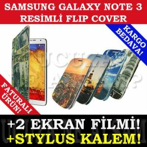 SAMSUNG GALAXY NOTE 3 KILIF RES�ML� FLIP COVER