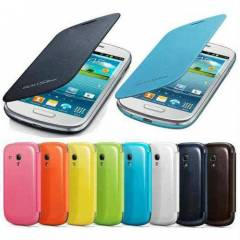 Samsung Galaxy S3 Mini K�l�f Flip Cover + 2Film