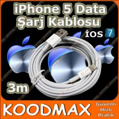 iPhone 5 iPad 4 iPad Mini USB �arj Data Kablo