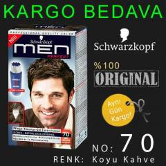 SCHWARZKOPF MEN PERFECT  | NO: 70    KOYU KAHVE
