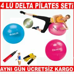 4 L� DELTA P�LATES TOPU PLATES SET TOP BANT