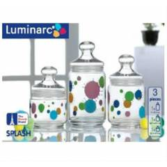 Luminarc 3'l� Kavanoz Splash