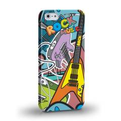 Biggdesign Rock Music I Phone 5/5S Kapak