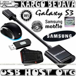 �9300 GALAXY S3 ORJ�NAL USB HOST OTG DATA KABLO