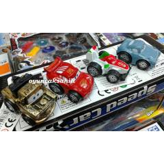 MATER CARS FRANCESCO 4 ADET METAL ARABA B�RDEN
