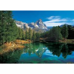 Clementoni 500 Par�a Puzzle The Blue Lake Cerv