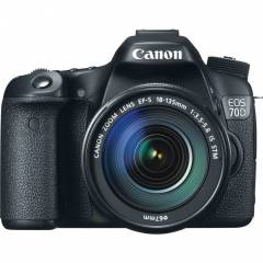 Canon 70D 18-135mm f/3.5-5.6 IS STM Foto�raf Mak