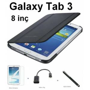 Samsung Galaxy Tab 3 K�l�f Book Cover 8'inch