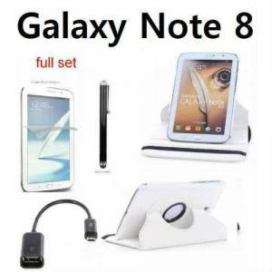 SAMSUNG GALAXY NOTE 8.0 KILIF N5105_BEYAZ FULL