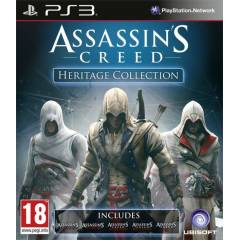 ASSASSINS CREED HERITAGE COLLECTION PS3 OYUN