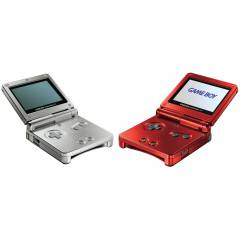 N�NTENDO GAMEBOY ADVANCE SP OYUN KONSOLU+�ND�R�M