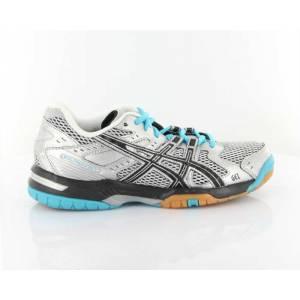 ASICS GEL ROCKET 6 SILVER BLACK ICE AYAKKABI ATS