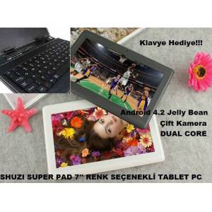 SHUZI PAD 7'' 4.2 Jelly HDMI Tablet PC+Klavyel