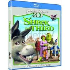 Shrek The Third (3D) BLURAY-AMBALAJINDA �R�N
