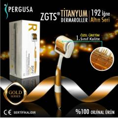 ZGTS DERMAROLLER GOLD SER� -  0,5mm - SA� VE Y�Z