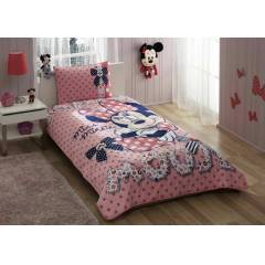 Ta� Lisansl� Minnie Mouse Dream Yatak �rt�s� Set