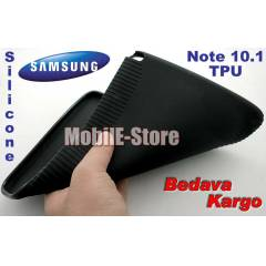 Samsung Galaxy Note 10.1 Tablet TPU K�l�f+Film
