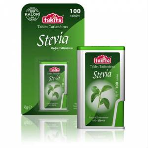 TAK�TA STEV�A Do�al Tatland�r�c� 100 Tablet 6 G