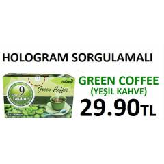 Green coffee 9 The Factor *HOLOGRAM SORGULAMALI*