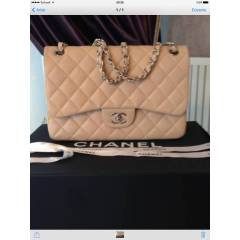 ORJ�NAL CHANEL  2 55  DOUBLE FLAP �ANTA