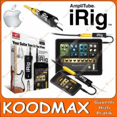 Gitar iRig iPhone iPod iPad Ba�lant� Amplitube