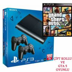 Sony Playstation 3 500 gb+GTA 5 HED�YE+��FT KOL