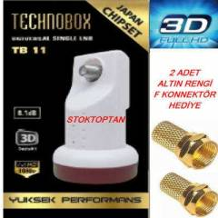 TECHNOBOX TEK G�R��L� LNB FULL HD 3D 2014 MODEL