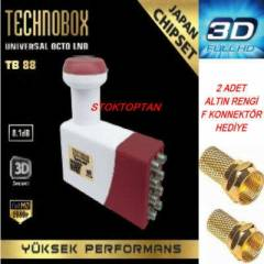 TECHNOBOX SEK�Z G�R��L� LNB FULL HD 3D 2014MODEL