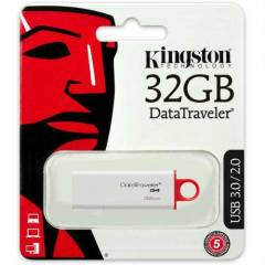Kingston 32 GB DT�G4 3.0 USB Flash Bellek
