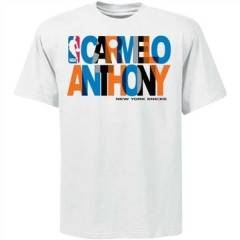 NBA NYK CARMELO ANTHONY T-SHIRT !