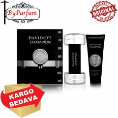 Davidoff Champion Set EDT 90 ml+Hair+Body Shampo