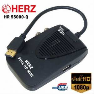 HERZ HR-55000 Full HD Mini Uydu Al�c�s�