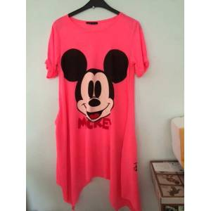 Japon Style tunik elbise mickey mouse