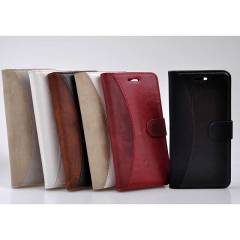 Samsung Galaxy Wonder i8150 K�l�f Flip Cover Re