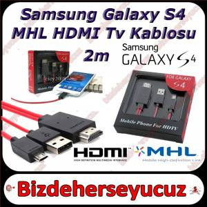 Samsung Galaxy NOTE 2 S3 S4 MHL Hdmi Tv Kablo