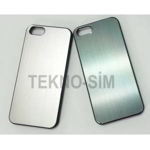 Apple iphone 5/5S/5G KILIF SERT ARKA METAL KAPAK