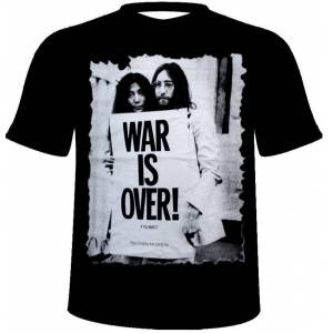 John Lennon Ti��rt-War is  Over-�CRETS�Z KARGO