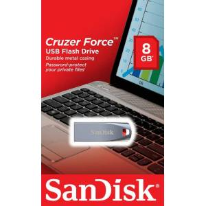 Sandisk Cruzer Force 8Gb Metal Usb Flash Bellek