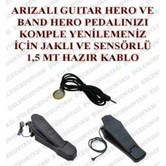GUITAR BAND HERO DAVUL BATER� PEDAL TAM�R SET�