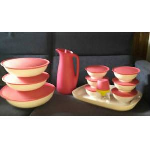 TUPPERWARE BERRAK SET.18 PAR�A 255.90TL.