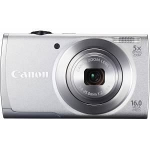 CANON POWERSHOT-A2600SLV 16MP 5X 3 HD LI-ION GUM