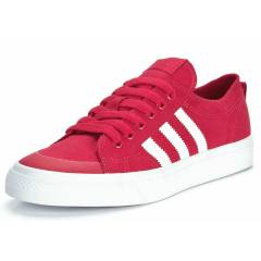 ADIDAS NIZZA LO RED-WHT MEN SHOES