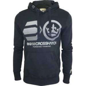 Crosshatch Kap��onlu Erkek Sweatshirt SMALL