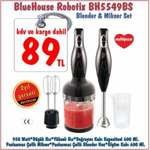 BLUE HOUSE BH 5549 BS BLENDER & M�XER SET