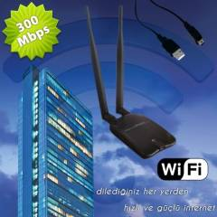 300 Mbps �ift Antenli Wireless Modem